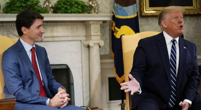 Тръмп и Трюдо са се обявили за привличане на Китай под отговорност за недобросъвестни търговски практики