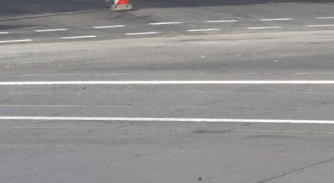 """Възстановено е движението при км 74 на автомагистрала """"Тракия"""" в"""