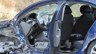 Катастрофа с ранени на пътя Дамяница-Сандански