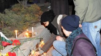 Бдение в памет на убитата 7-годишна Кристин се състоя в центъра на Сливен