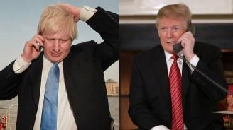 Борис Джонсън е обсъдил в телефонен разговор с Доналд Тръмп икономически въпроси преди срещата на Г-7