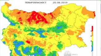 Сериозна опасност за пожари в 8 области на страната