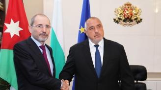 Борисов се срещна с министъра на външните работи на Йордания Айман Ал-Сафади