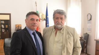 Вежди Рашидов се срещна с министъра на правосъдието Данаил Кирилов