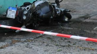 Състезател с мотоциклет се блъсна в паднало дърво край гр. Шипка