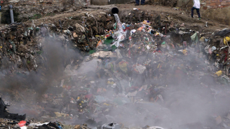 Ето какво е качеството на въздуха в Карлово след пожара на депото край града