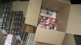 "Спипаха голямо количество контрабандни цигари на ГКПП ""Дунав мост"" и ""Дунав мост 2"""