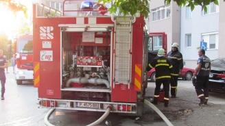 17-годишна оцеля по време на пожар в апартамент в Русе