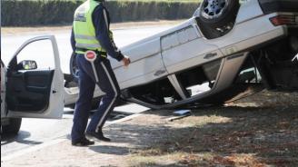 Катастрофа на пътя Добринище – Банско, един пострада