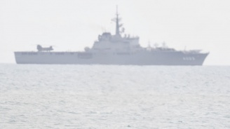 Американски воененкорабпремина презстратегическия Тайванскипроток