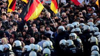Очаква се 10 000 души да се включат в днешния поход срещу крайната десница в Дрезден
