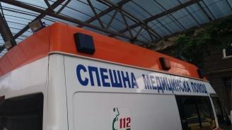 Катастрофа между каруца и бус на пътя Исперих - Разград: Един е тежко пострадал