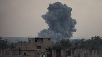 Израелски самолети нанесоха удар по ирански сили в Сирия