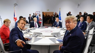 Г-7 ще помага в битката с големите пожари в Амазония, заяви Макрон
