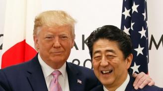 Тръмп и Абе се споразумяха принципно за търговско споразумение между САЩ и Япония