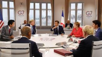 Вечерята на лидерите от Г-7 снощи е била напрегната заради Русия, заяви представител на ЕС