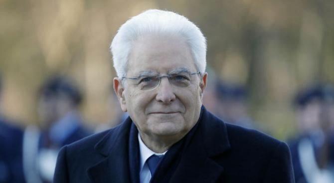 Италианският президент Серджо Матарела ще се срещне в сряда с