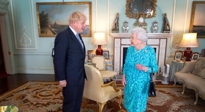 Британската кралица Елизабет Втора одобри плана на британския премиер Борис