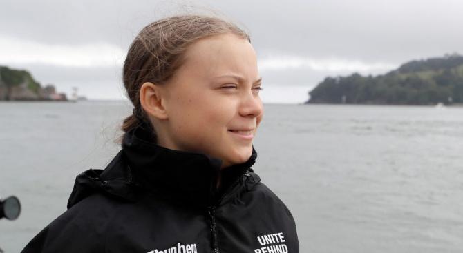 Младата шведска природозащитничка Грета Тунберг се очаква да пристигне днес