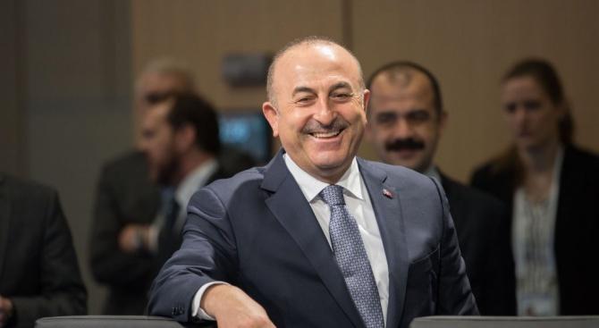 Турският външен министър Мевлют Чавушоглу заяви днес, че Турция иска