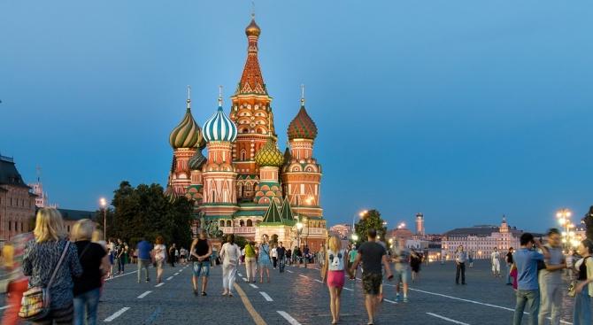 Хиляди хора участваха днес в непозволен протест в Москва с