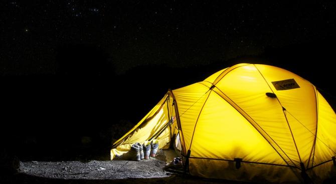 Вижте къде и как може да останем на палатка в националните паркове
