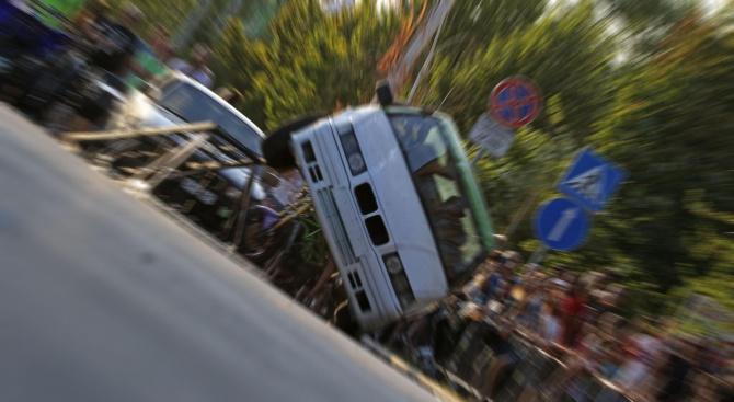 """Мото """"Stunt show"""" вдигна адреналина на димитровградчани с демонстрации на"""