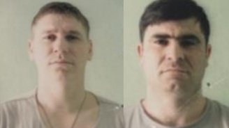 МВР разпространи снимки на молдовците, които избягаха от затворническо общежиетие