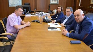Ръководството на прокуратурата се срещна със свидетеля Александър Ваклин