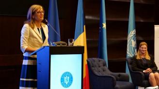 Захариева в Букурещ: Енергийната и транспортната свързаност са приоритети в отношенията ни с Румъния