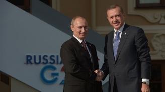 Путин и Ердоган ще се срещнат в Москва