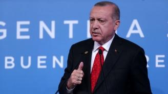 Ердоган: Турция иска да продължи да си сътрудничи с Русия в областта на отбраната
