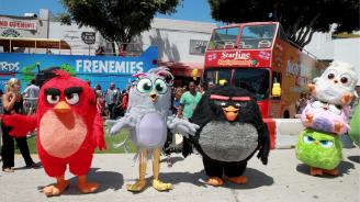 Гневните птици смъкнаха Тарантино