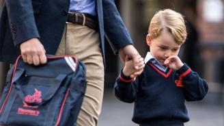 Водеща се присмя на принц Джордж, че учи балет