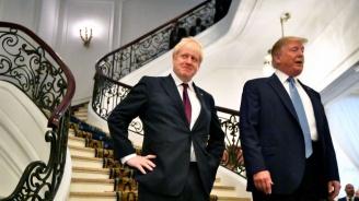 Тръмп похвали Борис Джонсън за решението му да спре работата на британския парламент