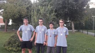 Наши ученици взеха 4 медала от Олимпиада по информатика