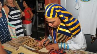 """""""Вечер на Египет"""" на изложбата на Тутанкамон в Бургас"""