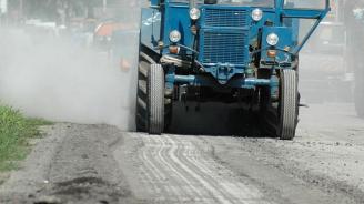 """Преасфалтират цялостно улиците край крепостта """"Царевец"""" в Търново"""