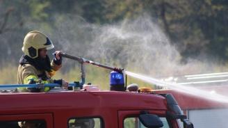 Пожар в защитената зона на  Дуранкулашкото езеро