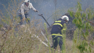 РИОСВ сезира прокуратурата за пожара край Дуранкулашкото езеро