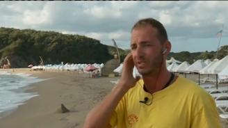 """Спасител за трагедията с удавилите се баща и син край Синеморец: Плаж """"Липите"""" изглежда привидно тих, но е един от най-опасните"""