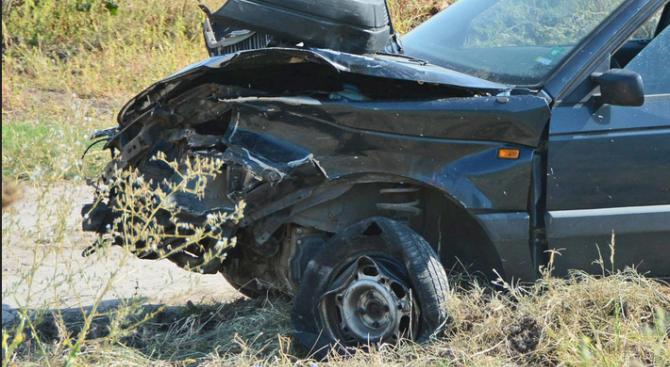 Пиян шофьор самокатастрофира във Видин
