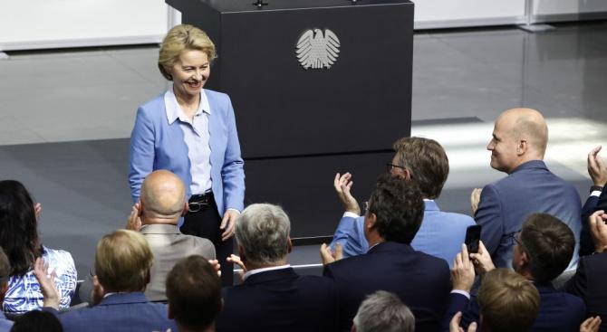 Помпейо и Урсула фон дер Лайен се разбраха САЩ и ЕС да работят заедно по глобални въпроси