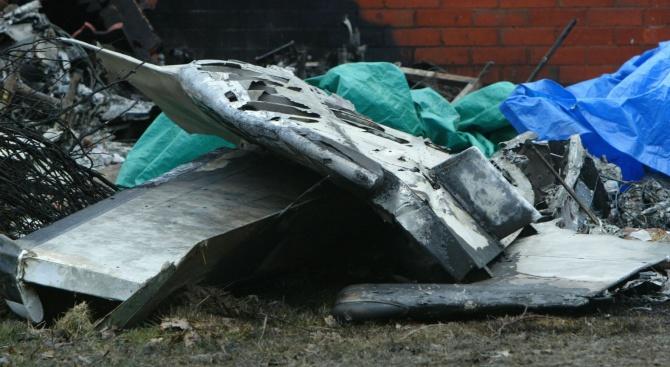 Загинали са пилотите на руския военен самолет, паднал вчера в