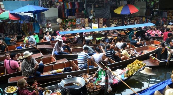 Банкок е бил най-посетеният от чуждестранни туристи град миналата година,