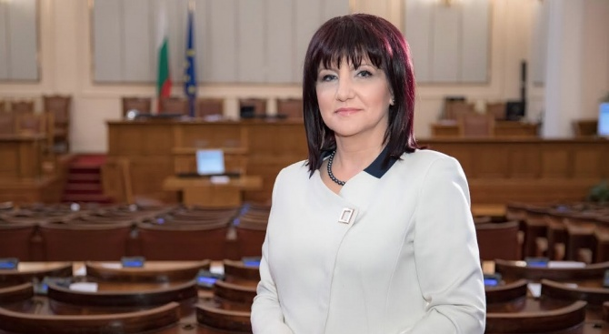 Председателят на Народното събрание Цвета Караянчева ще открие на 6