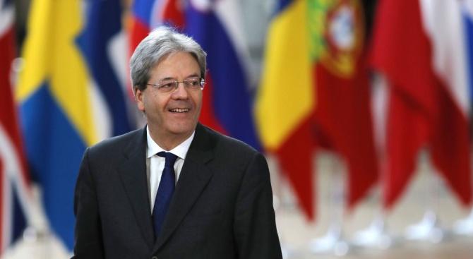 Италия предложи за европейски комисар, Паоло Джентилони, който е бил