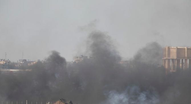 Израел атакува обекти на Хамас в ивицата Газа