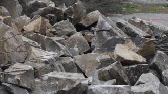 Внимавайте за падащи камъни в Кресненското дефиле