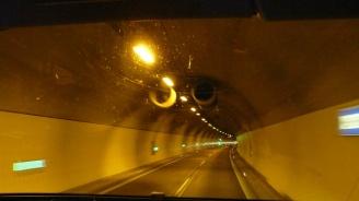 """Движението в тунелите """"Топли дол"""" и """"Витиня"""" ще бъде временно ограничено утре"""